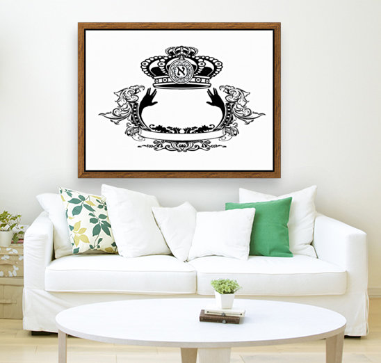 monogram crown  3  Art