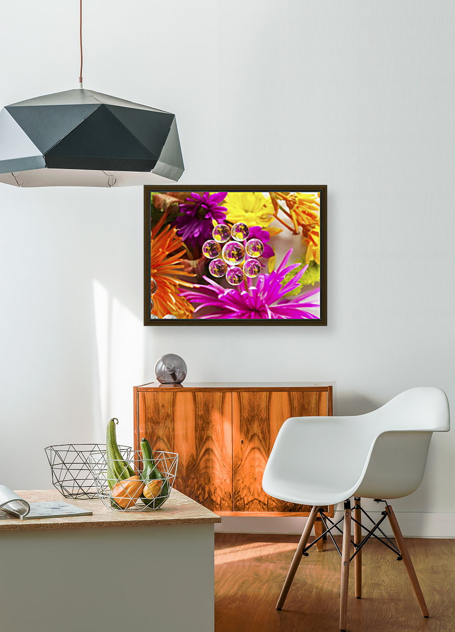 FLOWERS REFRACTION 9  Art