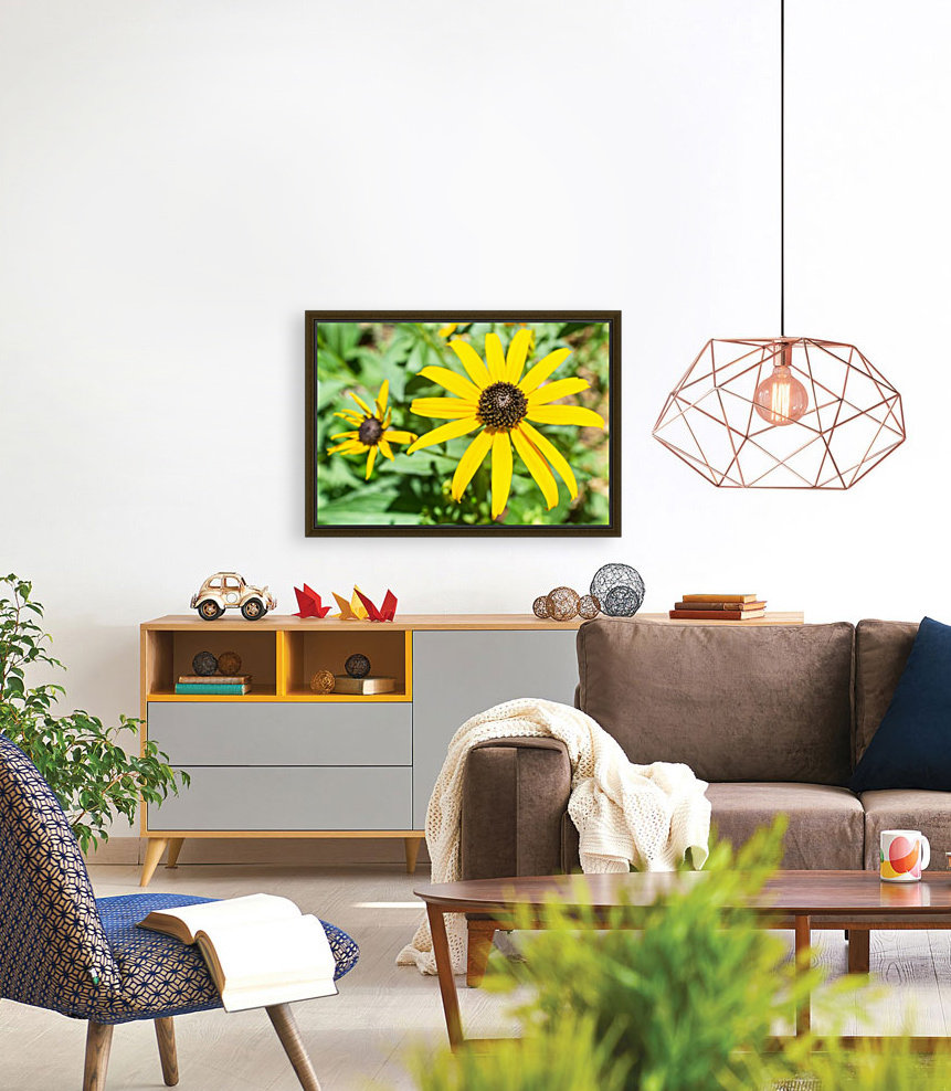 Yellow Cone Flowers   Art