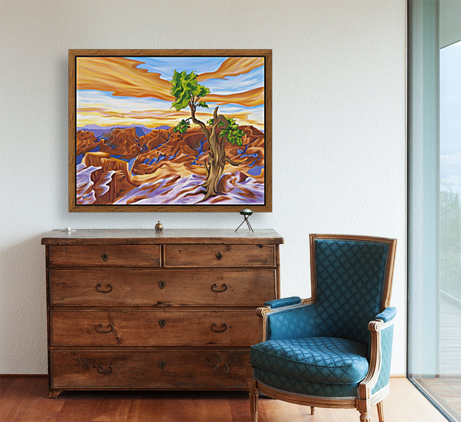 Sedona  with Floating Frame
