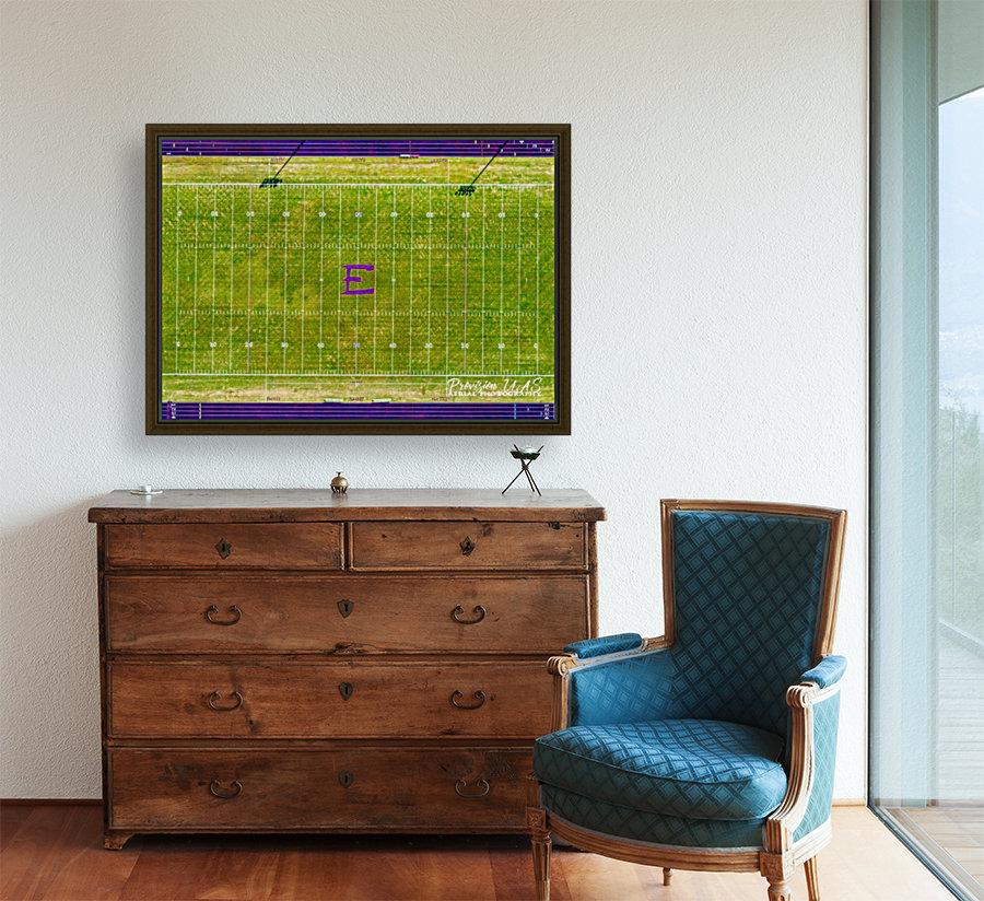 England, AR | Lions Football Field  Art