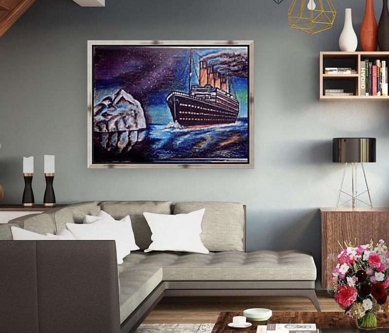 Titanic - Noyon Canvas
