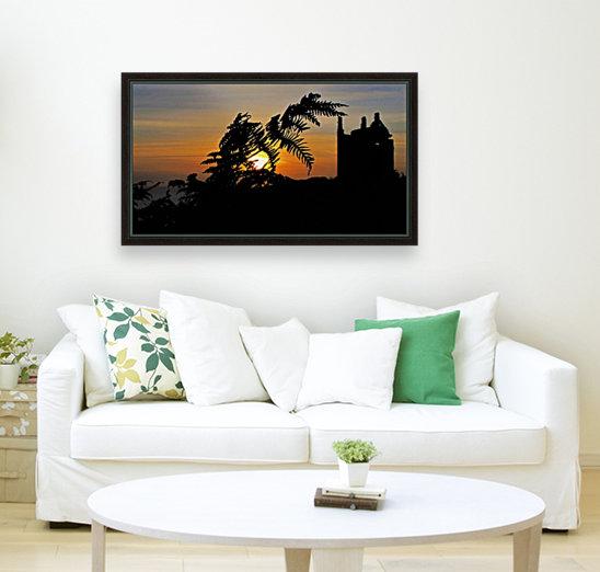 Fern castle sunset  Art