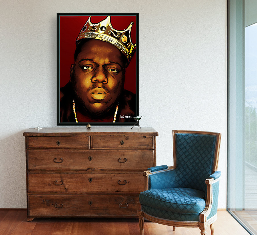 Biggie Smalls aka Notorious B.I.G  Art