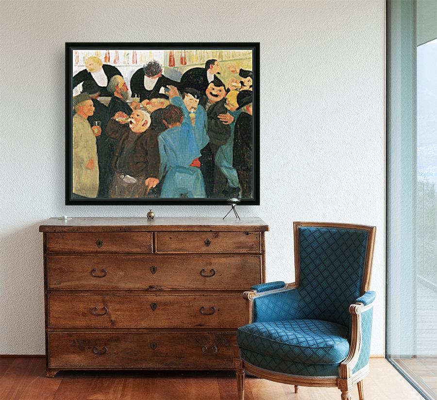The bistro by Felix Vallotton  Art