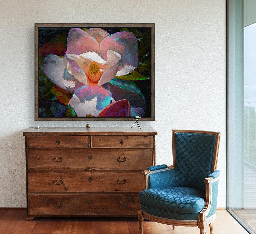 Magnolia Grandiflora Impression  Art