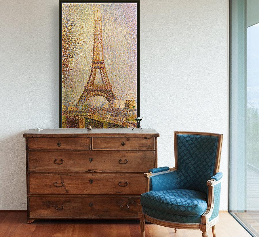 The Eiffel Tower by Seurat  Art