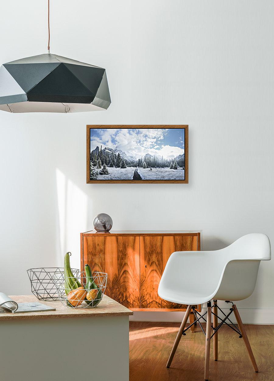Mountain World  Art