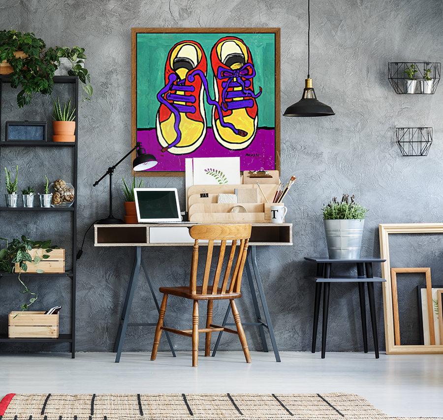 TENNIE RUNNERS  Art