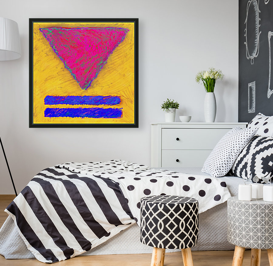 INVERTED PINK TRIANGLE  Art