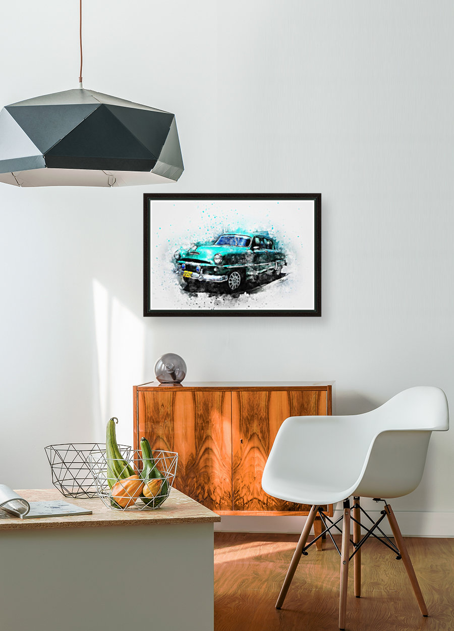 car with Floating Frame