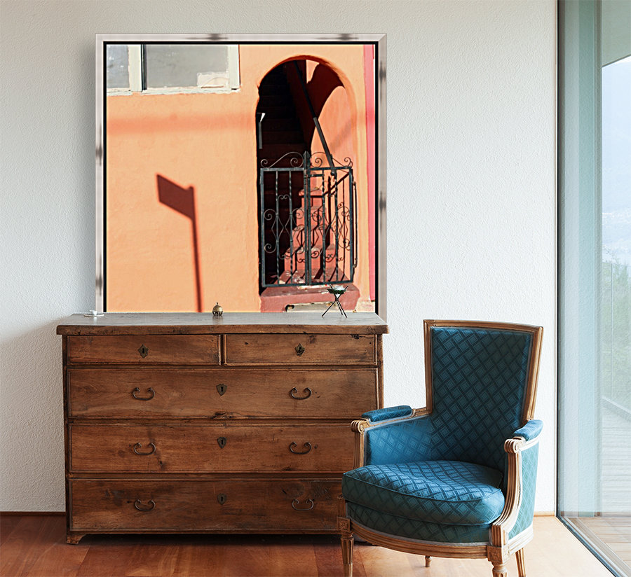Arched Stairway with Gate  Art