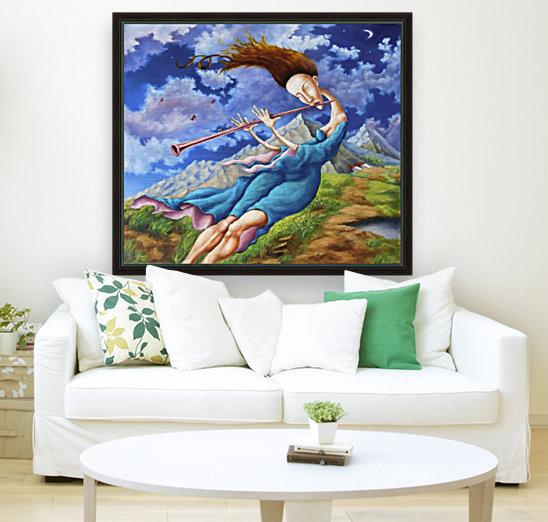 Windy Flutist  Art