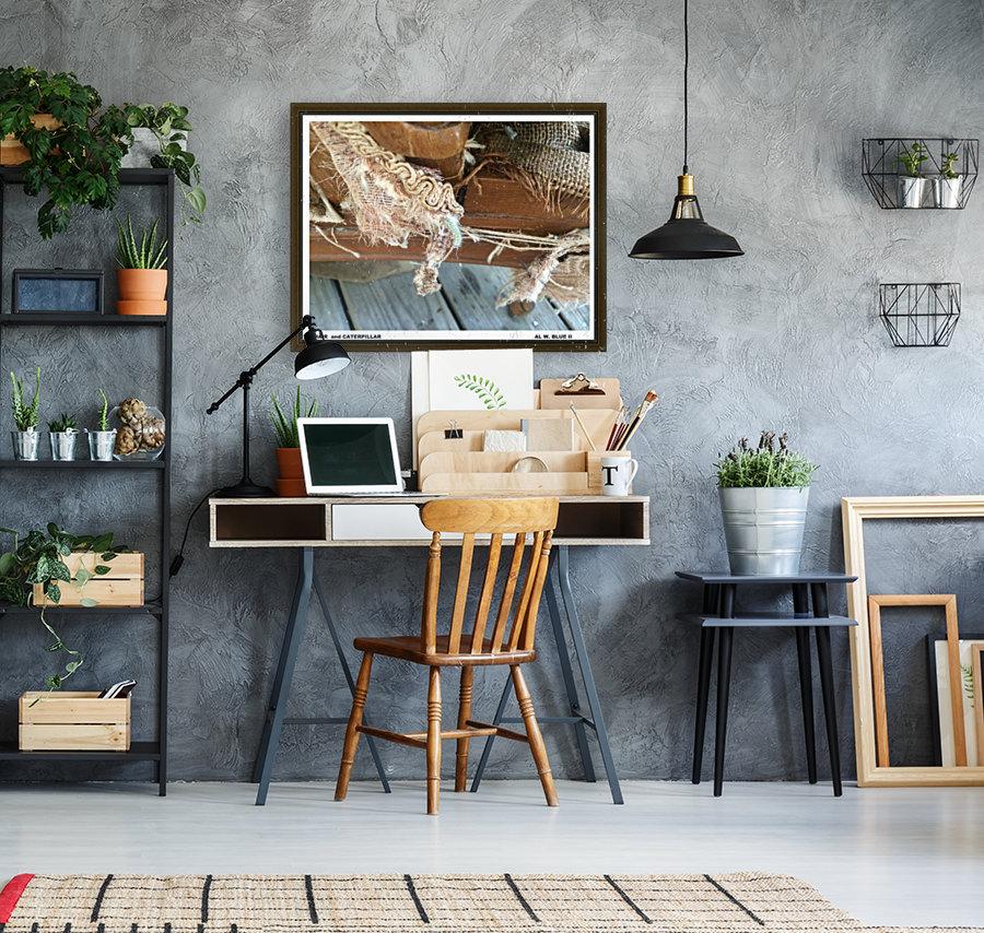 Chair & Caterpiller  Art
