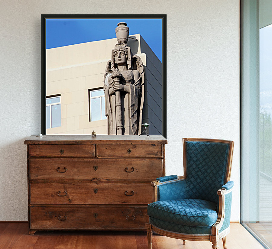 Blue Angel On Watch  Art