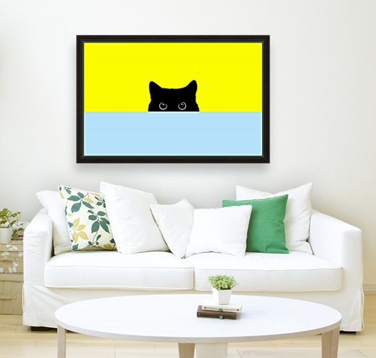 Kitty with Floating Frame