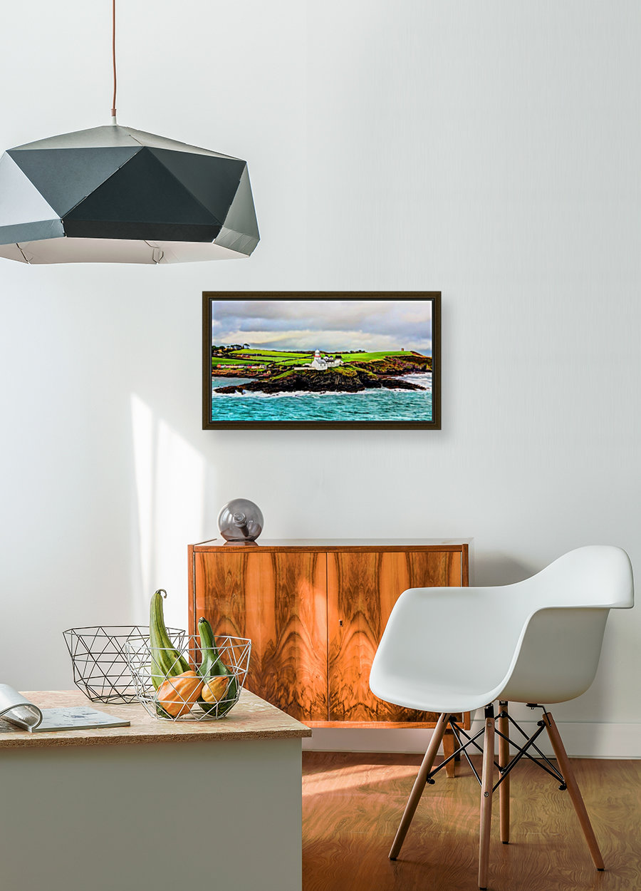 Lighthouse Cobh Ireland Paint effect  Art
