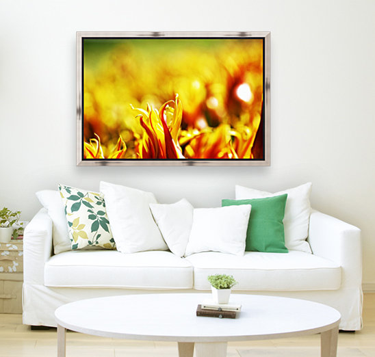 Flower Touch with Floating Frame