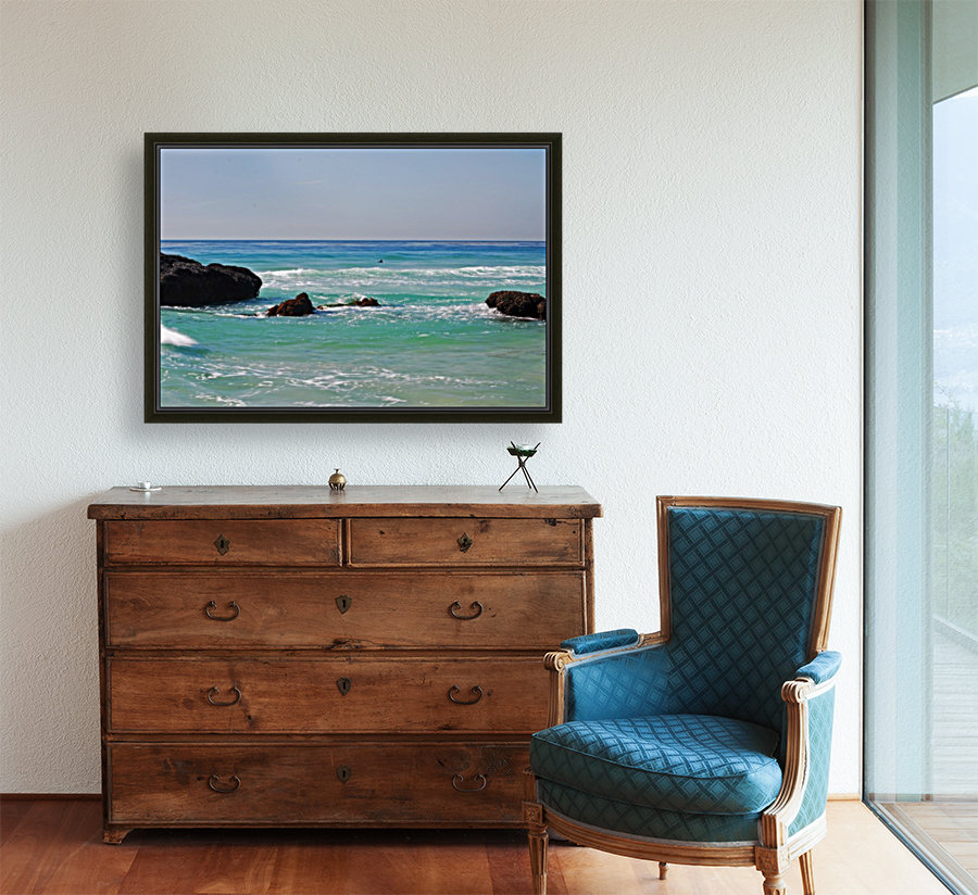 Ocean by Dana Point CA with Floating Frame