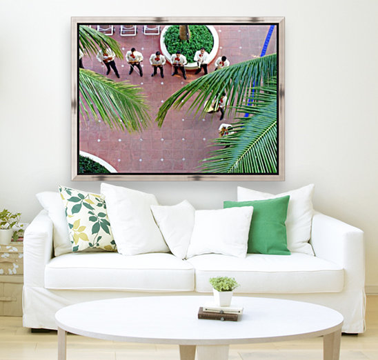 Mexican Serenade with Floating Frame