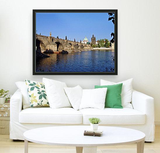 View of The Charles Bridge Prague  Art