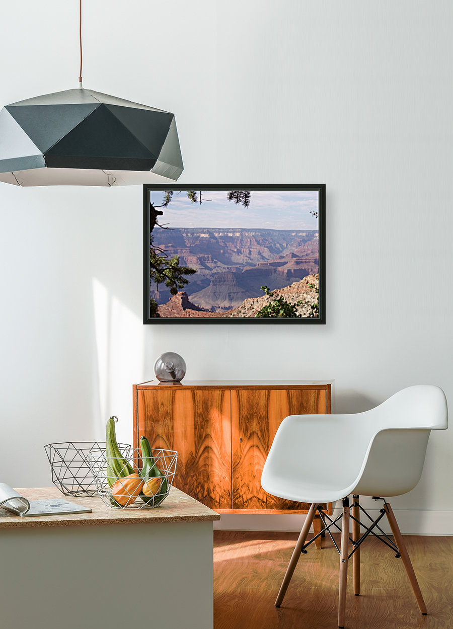 Grand Canyon Photo with Floating Frame