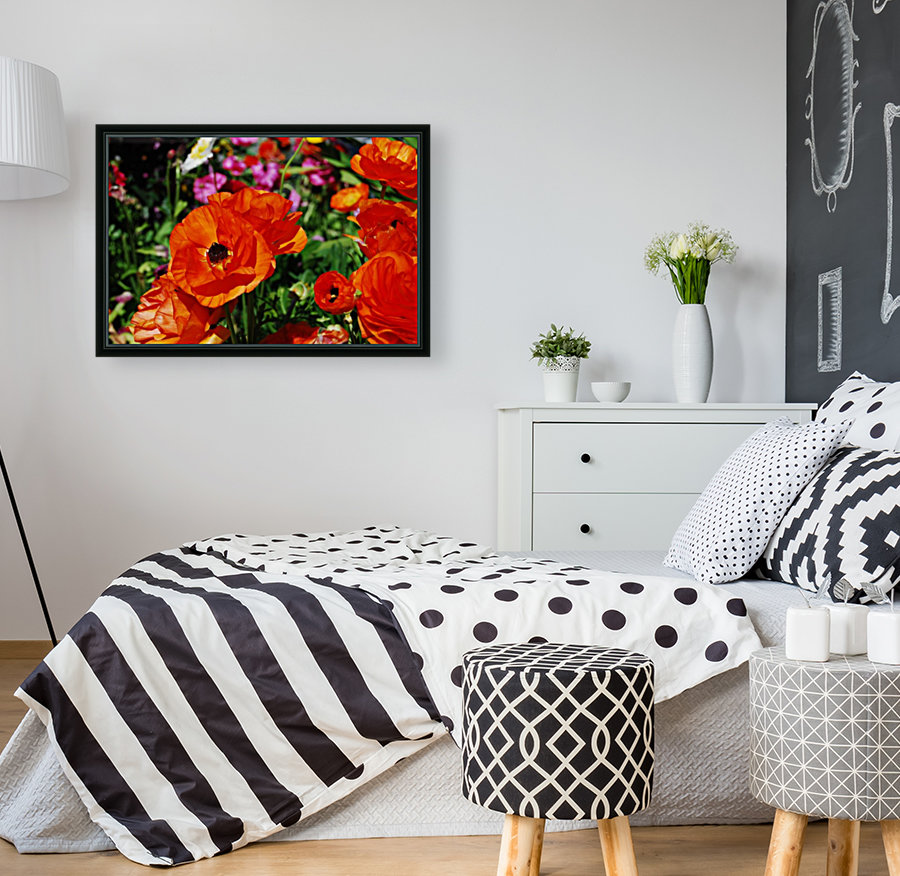 Garden with Flowers  Art