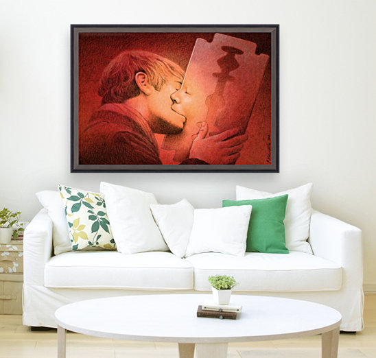 kiss with Floating Frame