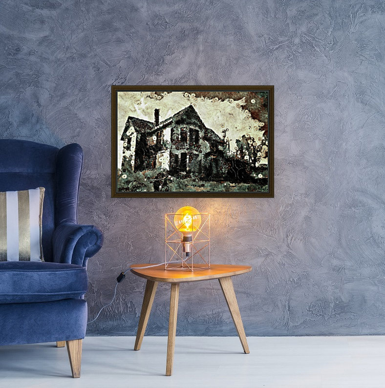 Haunted candy house  Art