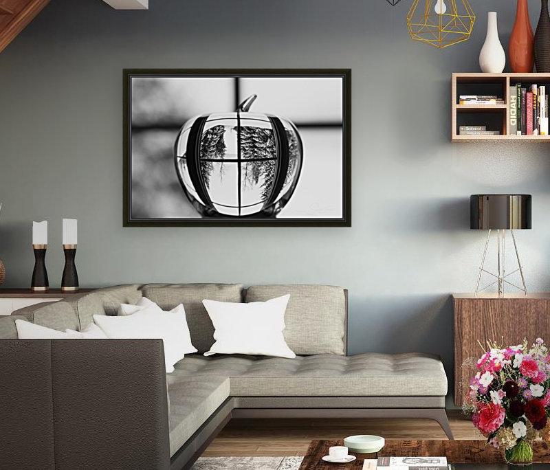 L'hiver est dans la pomme  Art