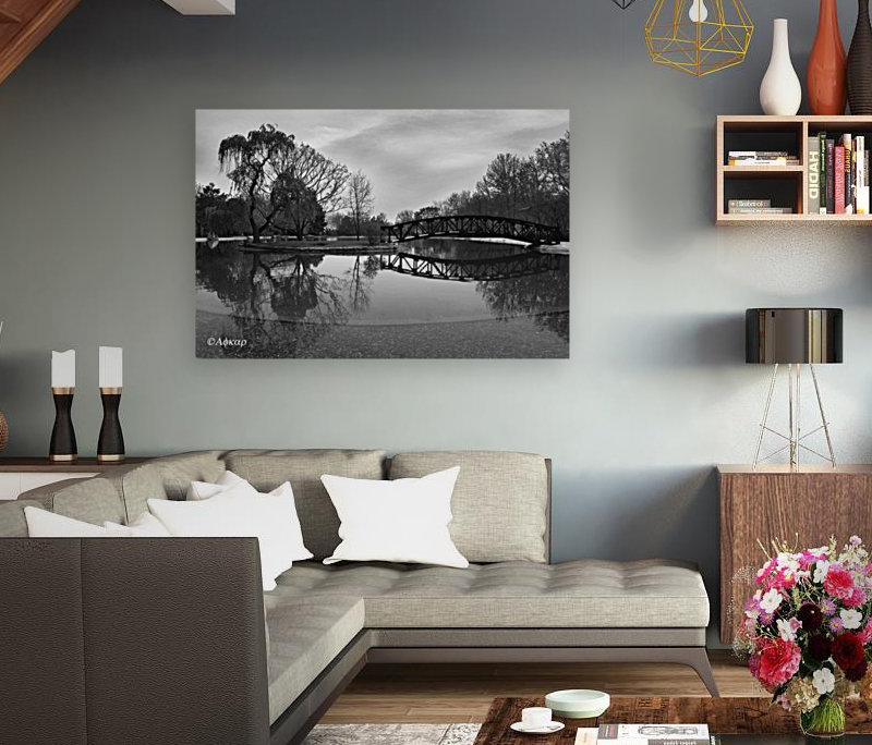 Bridge of dreams with Floating Frame
