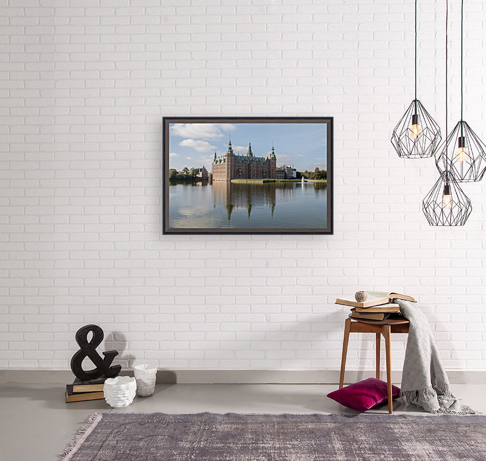Castle of Frederiksborg  with Floating Frame