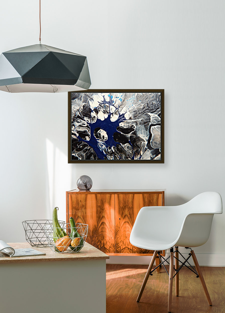 BLACK AND BLUE  Art