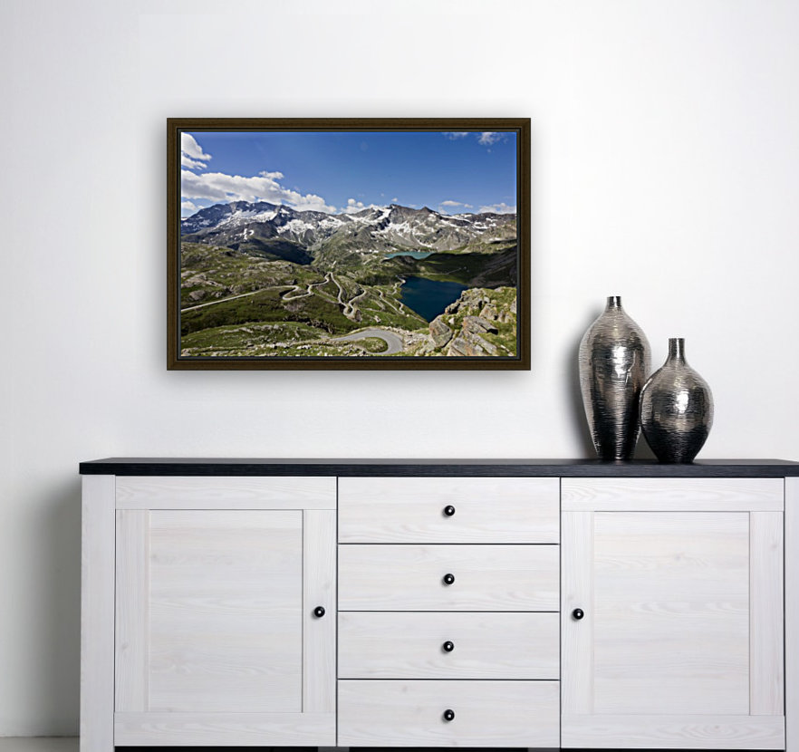 Landscape of Gran Paradiso  Art