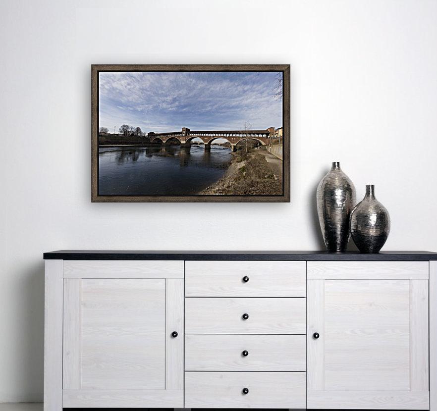 Pavia - Il Ponte coperto  Art