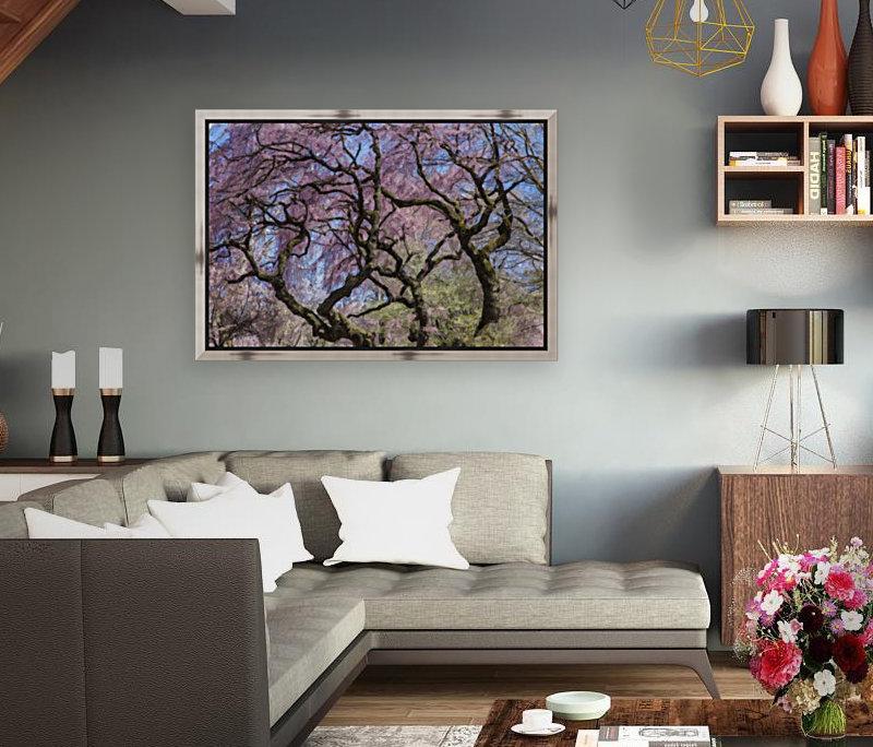 Abstract Cherry Blossom tree  Art