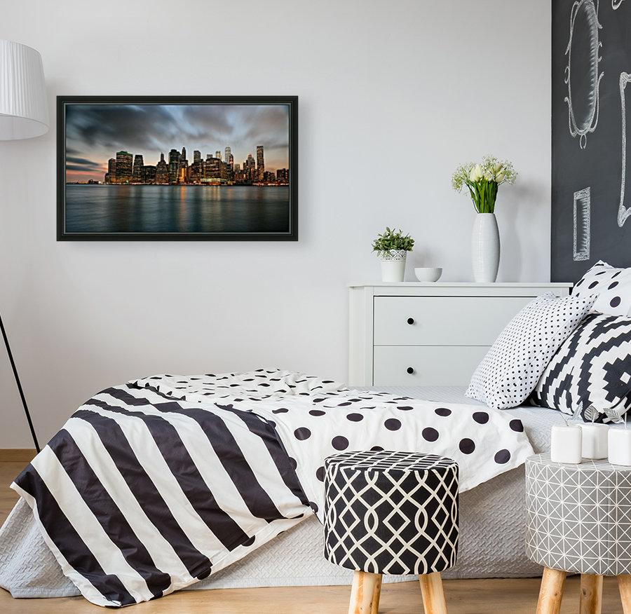 New York City Skyline at Dusk  Art