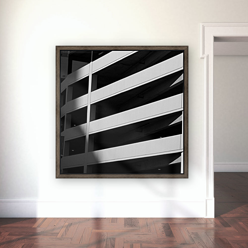 Bold Bands in Black & White  Art