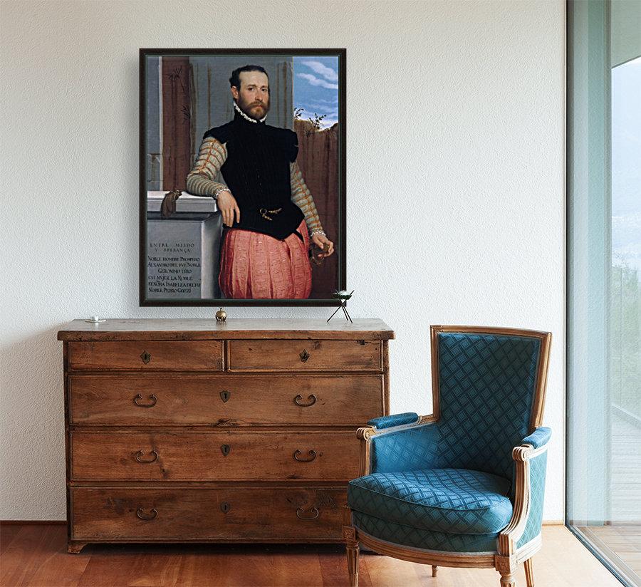 Portrait of Prospero Alessandri  Art