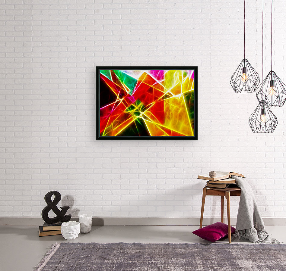Geometric Colors with Floating Frame