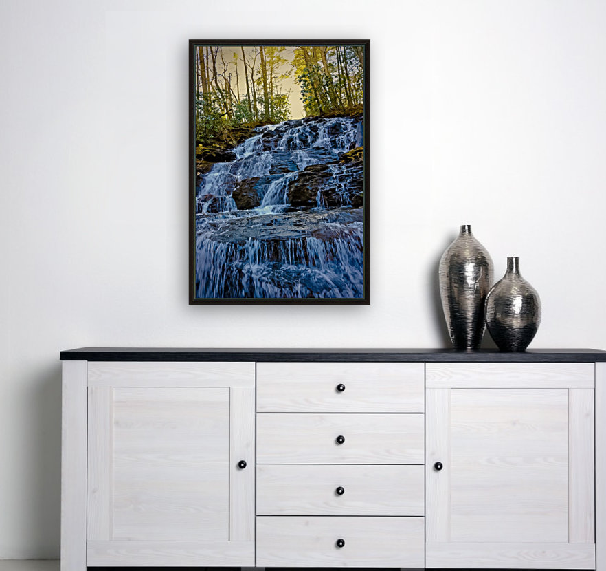 Waterfall in the Woods  Art