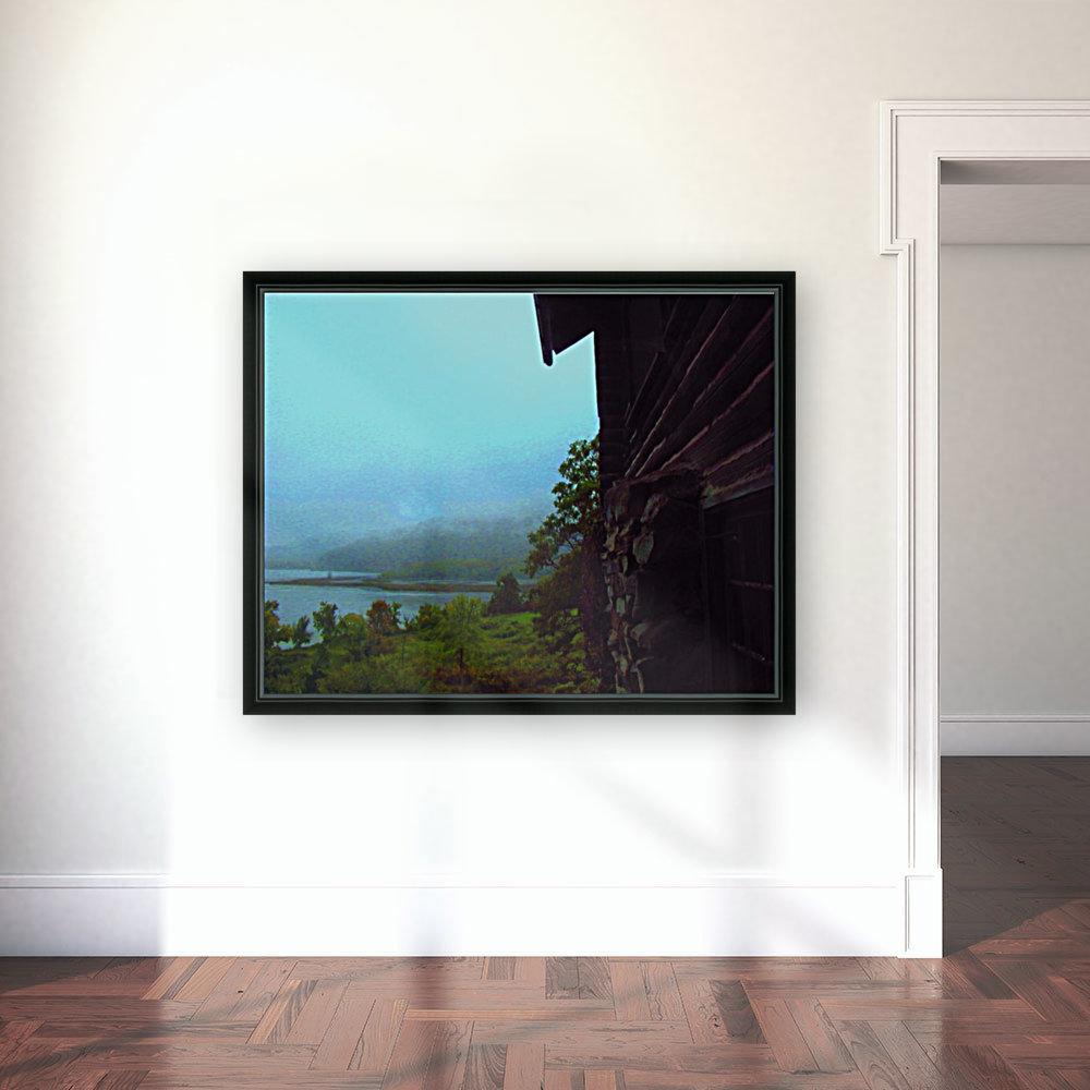 Lake Champlain with Floating Frame