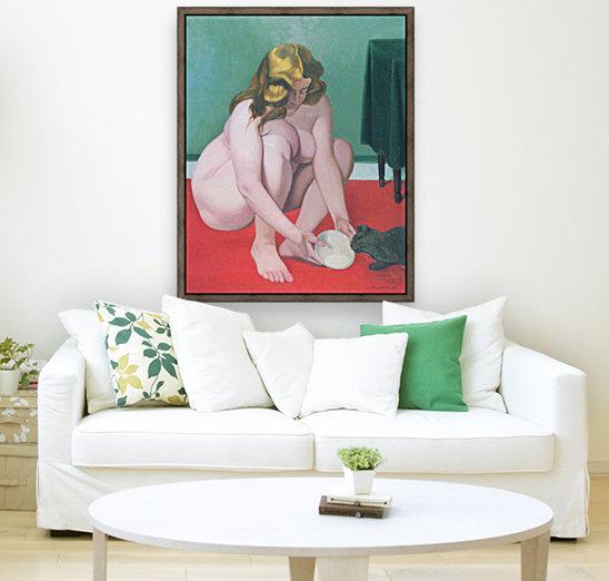 Woman with cat by Felix Vallotton  Art