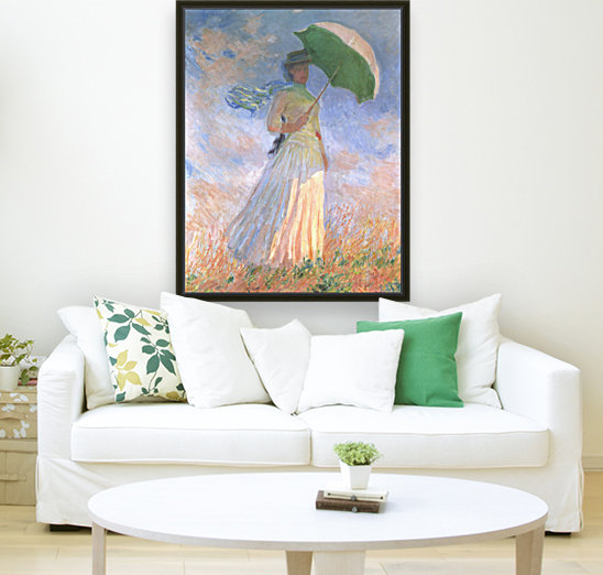 Woman with Parasol  Art