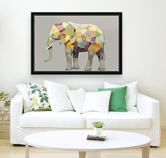 Elephant Mosaic  Art