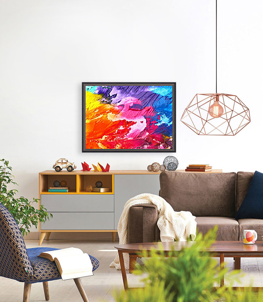 Waves Of Colors  Art