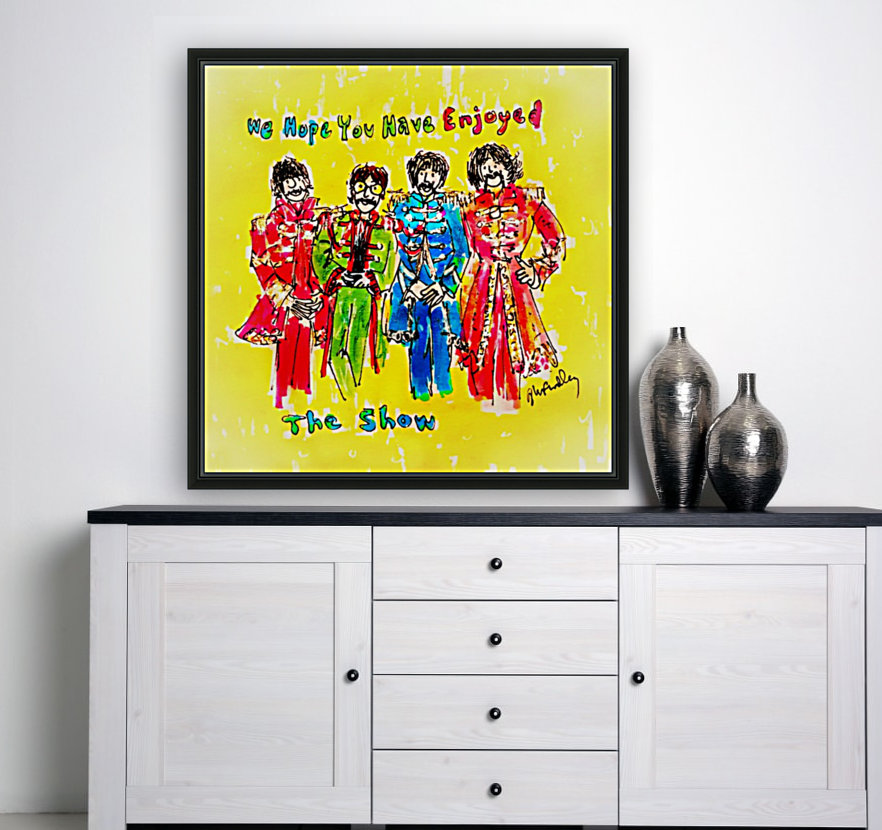 The Beatles - Enjoyed The Show  Art