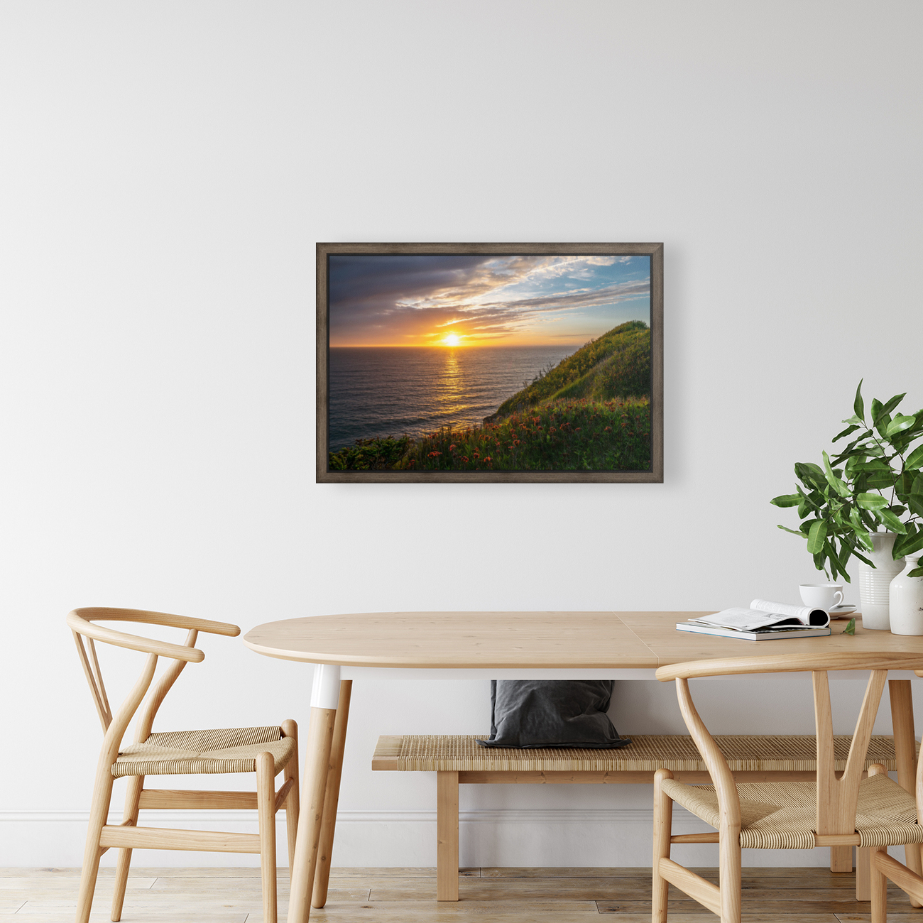 Glorious Light with Floating Frame