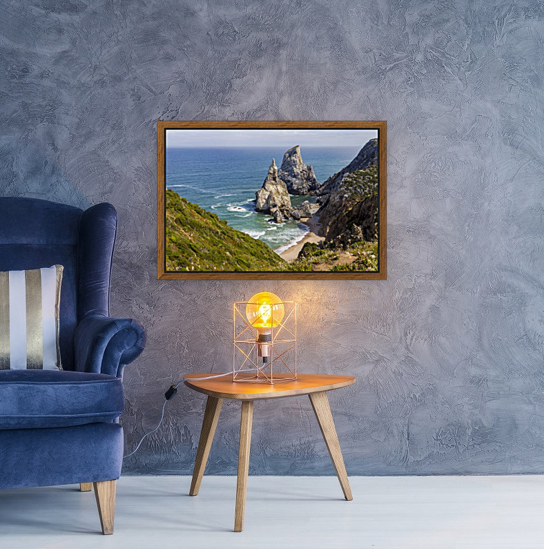 Praia da Ursa with Floating Frame
