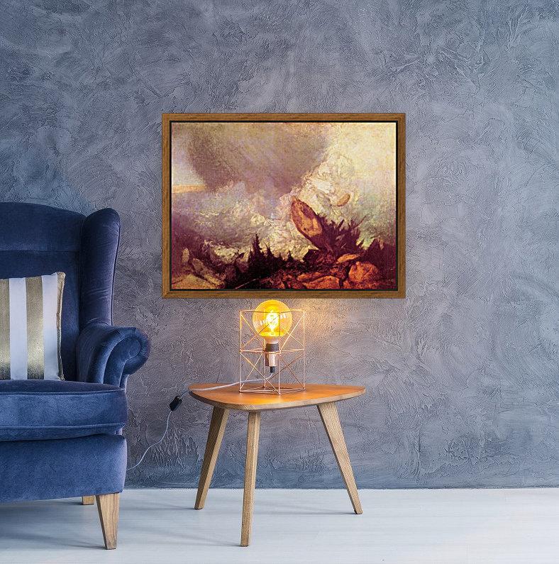 Avalanche by Joseph Mallord Turner  Art